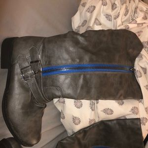 Brand New Leather Boots!